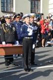 1-ое сентября в Санкт-Петербурге присяга Стоковые Изображения RF