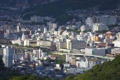 13-ое сентября 2016 город Нагасаки, Япония Стоковое Изображение