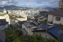 13-ое сентября 2016 город Нагасаки, Япония Стоковая Фотография RF