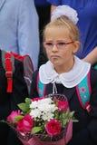 1-ое сентября, день знания в русской школе День знания школа дня первая Стоковые Фото