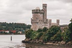 2-ое сентября 2017 - замок Blackrock, castellated городище расположенное на Blackrock, около 2 km от центра города пробочки Стоковые Изображения RF