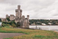 2-ое сентября 2017 - замок Blackrock, castellated городище расположенное на Blackrock, около 2 km от центра города пробочки Стоковые Фото