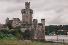 2-ое сентября 2017 - замок Blackrock, castellated городище расположенное на Blackrock, около 2 km от центра города пробочки Стоковое Изображение