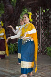 14-ое сентября 2014 Традиционное представление актеров в Стоковые Фотографии RF