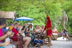 14-ое сентября 2014 Традиционное представление актеров в Стоковые Изображения RF