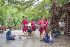 14-ое сентября 2014 Традиционное представление актеров в Стоковое Изображение