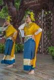 14-ое сентября 2014 Традиционное представление актеров в Стоковое Изображение RF