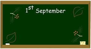 1-ое сентября Стоковая Фотография