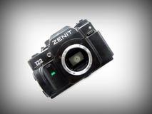 22-ое сентября 2017 Arzamas, зенит камеры России старый Стоковое Изображение