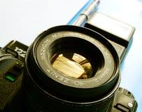 22-ое сентября 2017 Arzamas, зенит камеры России старый Стоковое Фото
