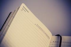 1-ое января, первый день Нового Года в календаре Стоковые Фотографии RF