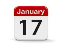 17-ое января Стоковые Изображения