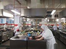 1-ое SEPT. 2016, Shah Alam Холостяк встречи кулинарного студента отделения гуманитарных наук практически Стоковые Фото
