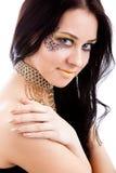 ожерелье девушки Стоковое Изображение RF