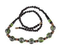 Ожерелье деревянных шариков Стоковые Фото