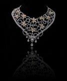 ожерелье диаманта Стоковые Фото
