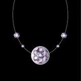 ожерелье диаманта Стоковые Фотографии RF