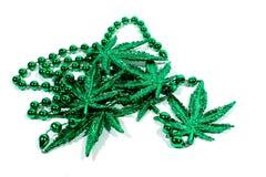 Ожерелье марихуаны Стоковое Изображение RF