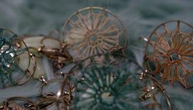 Ожерелье с элементами macrame ожерелье старого стиля Стоковое фото RF