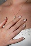 ожерелье удерживания руки Стоковые Изображения
