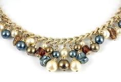 ожерелье ювелирных изделий costume Стоковые Изображения RF