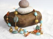 ожерелье ювелирных изделий costume стоковое изображение rf