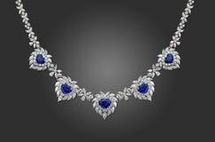 Ожерелье диаманта Стоковая Фотография