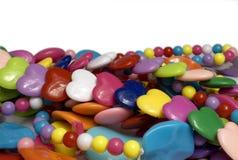 ожерелья вороха пластичные Стоковое Изображение RF