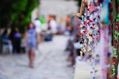 Ожерелье в базаре Стоковое Изображение