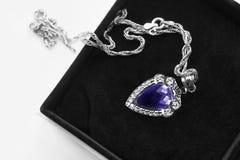 Ожерелье в коробке Стоковые Фото