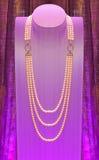 Ожерелье жемчуга Стоковая Фотография RF
