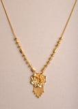 Ожерелье золота Стоковое Фото