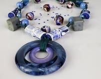 Ожерелье и шарики бирюзы Стоковое фото RF