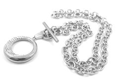 Ожерелье нержавеющей стали Стоковое Изображение