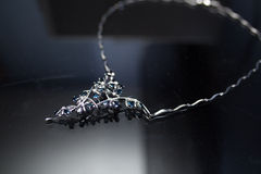 Ожерелье сапфира Стоковые Изображения RF