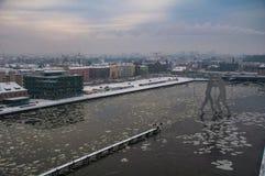 Оживление на Берлине в зимнем времени 1 стоковые изображения rf
