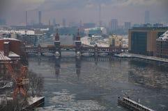 Оживление на Берлине в зимнем времени 5 стоковое изображение