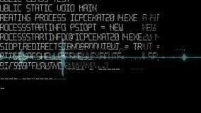 Оживленная предпосылка с тональнозвуковыми элементами Звуковая дорожка на дисплее Анимация сигнала звуковой частоты, простой крас стоковое изображение rf