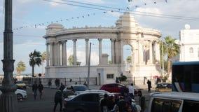 Оживленная улица Александрия сток-видео