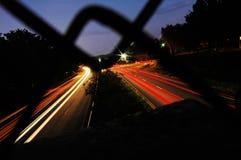 оживленные улицы Стоковое Изображение