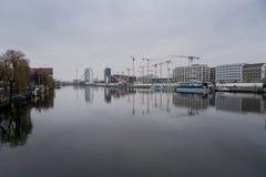 Оживление Берлин реки Стоковые Фото