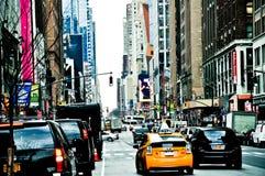 Улицы нью-йорк Стоковое Фото