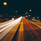 оживленные улицы Стоковая Фотография RF