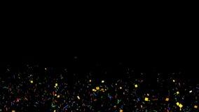 Оживленный confetti акции видеоматериалы
