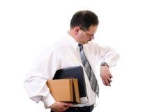 ожидание бизнесмена Стоковая Фотография RF