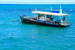 ожидание моря шлюпки aquanaut анкера стоковые фото