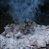 Ожога бумаги. Стоковая Фотография RF