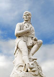 Ожога Роберта - статуя, Дамфрис стоковое фото rf