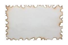 Ожогы бумаги стоковые фото