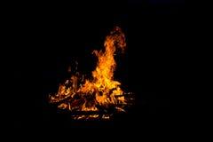Ожог огня Стоковое Фото